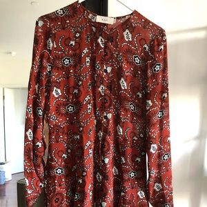 ALC Printed Silk Dress - Great Condition!